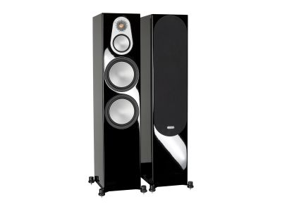 Monitor Audio Silver 500, 3-полосные напольные АС , 30 Гц-35 кГц, 250 ...